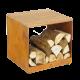 Ofyr Barbecue Wood Storage Hocker